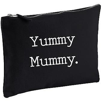 Yummy mama negru panza alcătuiesc sac