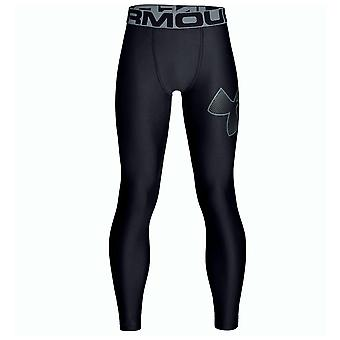 Under Armour HeatGear Armour Kids Fitted Baselayer Legging Tight Black