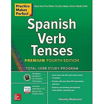 Oefening baart kunst: Spaanse werkwoordsvormen, vierde uitgave van de premie