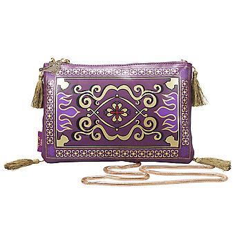 Disney Bag Aladdin Magic Carpet Lila/oro, stampato, 100% poliurethan/nylon.