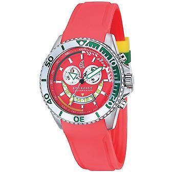 Spinnaker Amalfi Chrono Watch - Red