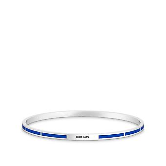 Toronto Blue Jays Bracelet In Sterling Silver Design by BIXLER