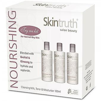 Skóra Skintruth prawdy, odżywczy twarzy Kit (spróbuj mi)