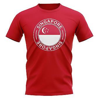 Singapore Football Badge T-Shirt (Red)