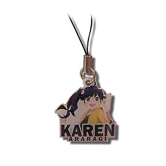 Cell Phone Charm - Nisemonogatari - Karen Metal Anime Licensed ge17080