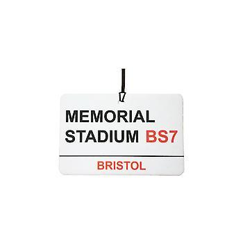 Bristol Rovers / Memorial Stadium Street Logg bil Air Freshener