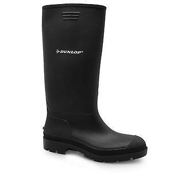 Dunlop Kids Wellington Junior stövlar pojkar vattentät kalv höjd skor nya