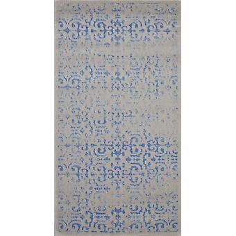 Pierre Cardin design matta i akryl Beige/Blå