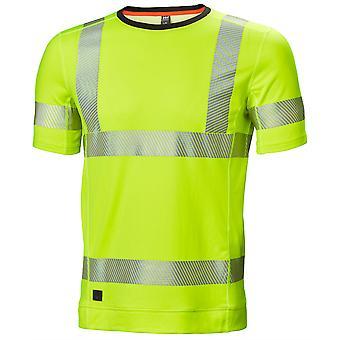 Helly Hansen Hombres Lifa Active Hi Vis Camiseta de Trabajo