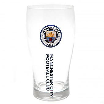 Manchester City Tulip Pint Glass