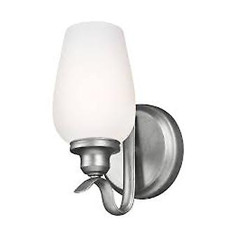 Feiss WB1769HTSL 1-Light sconce Wall luminária Heritage Silver