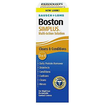Bausch + lomb boston simplus, 3.5 oz