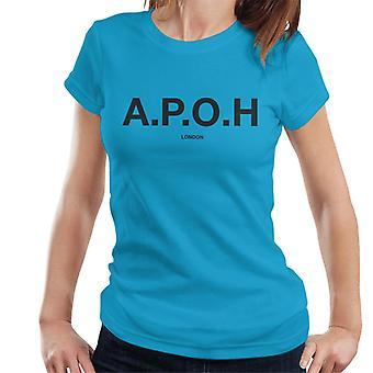 A. P. O. H klassisk sort logo kvinder ' s T-shirt