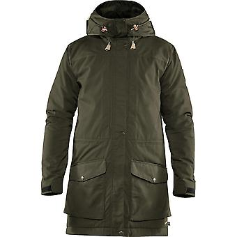 Fjallraven Singi Wool Padded Parka - Deep Forest 662