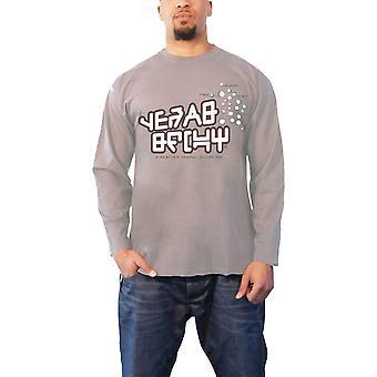 השומרים של חולצת גלקסי T כוכב לורד הרשמי Mens חדש אפור שרוול ארוך