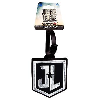 Justice League Movie Logo Luggage Tag