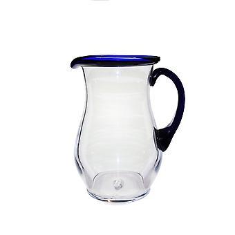 Bergdala Ttan-Blue RIM-Jug Grande rotondo 130 cl Design