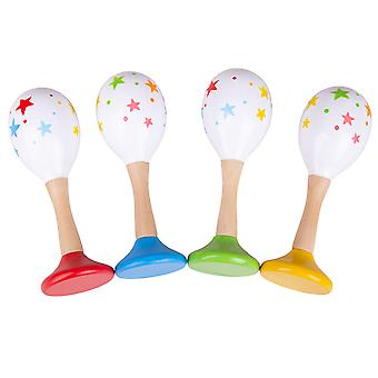 Bigjigs Toys Wooden Junior Maracas - Children's Musical Instruments