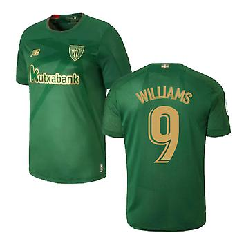 2019-2020 Athletic Bilbao Auswärts Fußball Trikot (WILLIAMS 9)