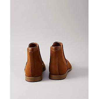 Amazon Brand - find. Men's Chelsea Boots, Brown Tan), US 12