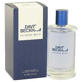 David Beckham Classic Blue door David Beckham Eau de Toilette Spray 3 oz (mannen) V728-518559