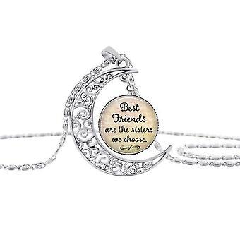 Die besten Freunde sind die Schwestern, die wir für die Halskette wählen