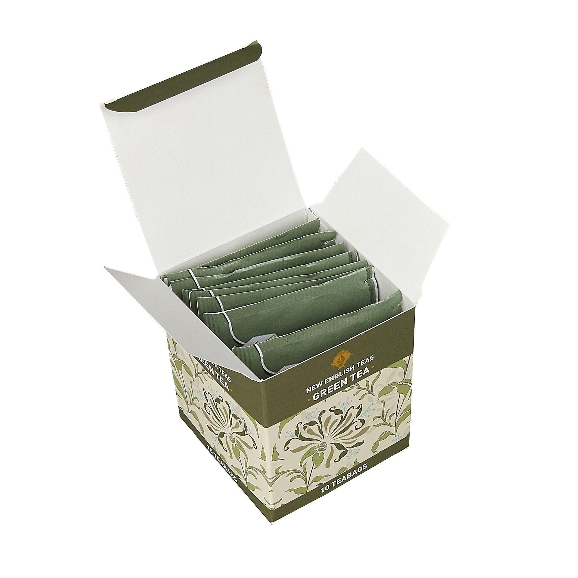 Green tea 10 individually wrapped teabags