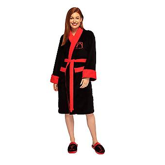 Women's Friends You Are My Lobster Fleece Dressing Gown