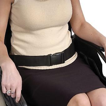 Veiligheidsriem voor rolstoelgebruikers - rolstoelgordel zwart