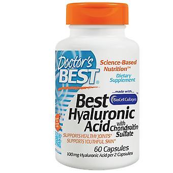 Beste hyaluronzuur met chondroïtinesulfaat (60 capsules)-arts ' s beste