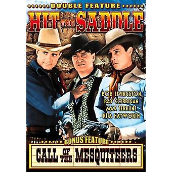 Hit the Saddle/Call of the Mesquiteers [DVD] USA import