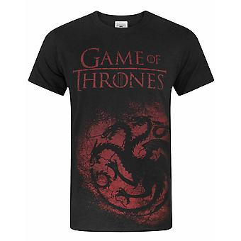 Game Of Thrones House Targaryen Men-apos;s T-Shirt