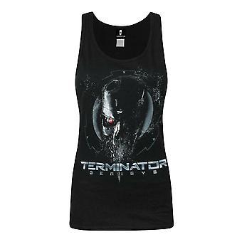 Terminator Genisys Endoskeleton Women's Vest