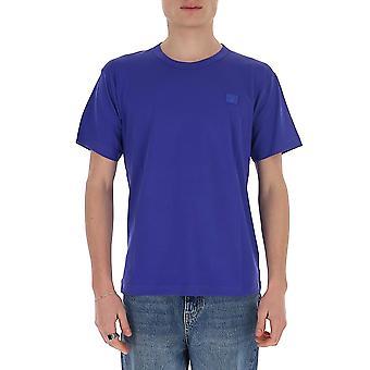 Acne Studios 25e173aak Men's Blue Cotton T-shirt