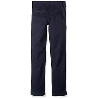 U.S. Polo Assn. Boys' Twill Pant (More Styles Available), Soft Navy, 16