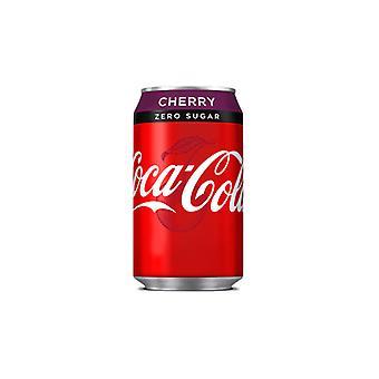 Coca Cola Us Cherry Zero -( 355 Ml X 12 Cans )