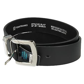 Tom Franks Suede Leather Lined Belt-BL107