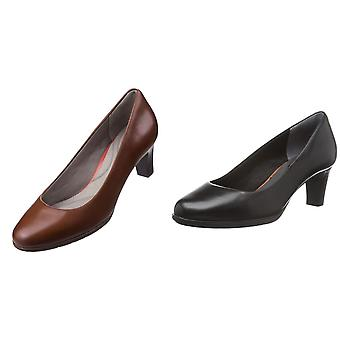 Rockport Womens/Ladies Melora Plain Leather Pump Shoe