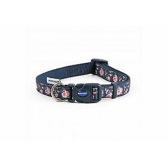 Ancol Adjustable Rose Dog Collar