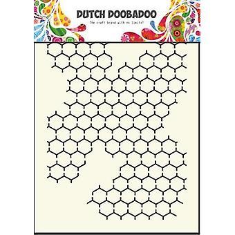 Dutch Doobadoo Chicken Wire A5 Stencil Mask 470.715.001