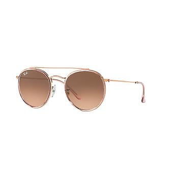 Ray-Ban RB3647N 9069/A5 Pink/Pink Gradient Brown Sunglasses