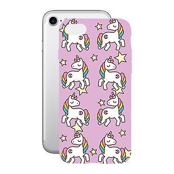 Coperchio mobile Iphone 7/8 KSIX Flex TPU Unicorn