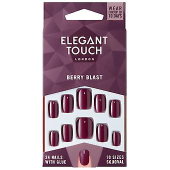 Elegant Touch Perfect Coloured False Nails Collection - Berry Blast (24 Nails)