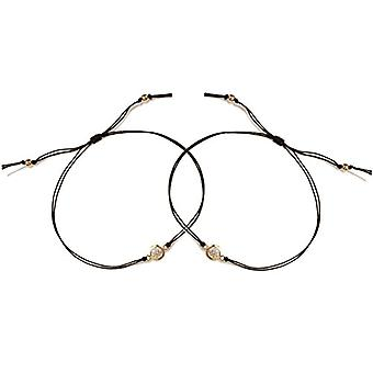 Dogeared Bracelet braided woman gold-plated