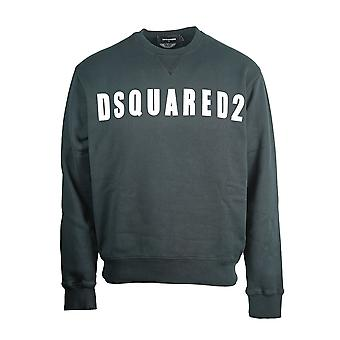 Dsquared2 Large Logo Print Black Jumper