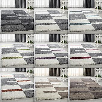 Shaggy Hochflor Longflor Living Room Tapis Modern Design Versch. Tailles de couleurs