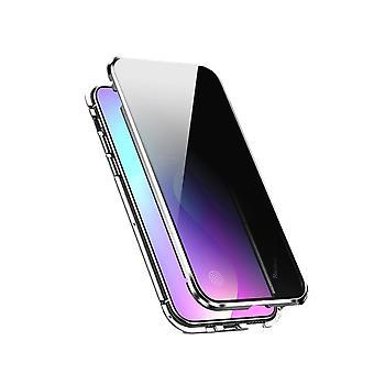 Mobiles Gehäuse mit doppelseitigem gehärtetem Glas - Xiaomi Redmi K20/K20P - Silber