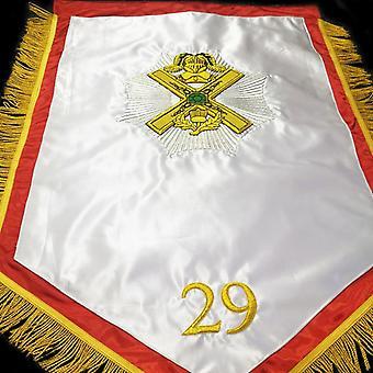 29. asteen skotlantilainen riitti 2'x3' muuraus banneri