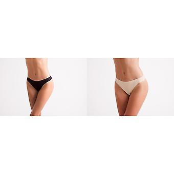 Silky Womens/Ladies Invisible Low Rise Dance Thong