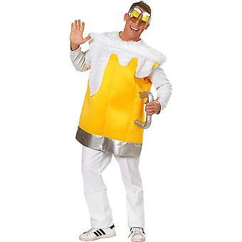 Birra Top Costume Uomo Carnevale Carnevale